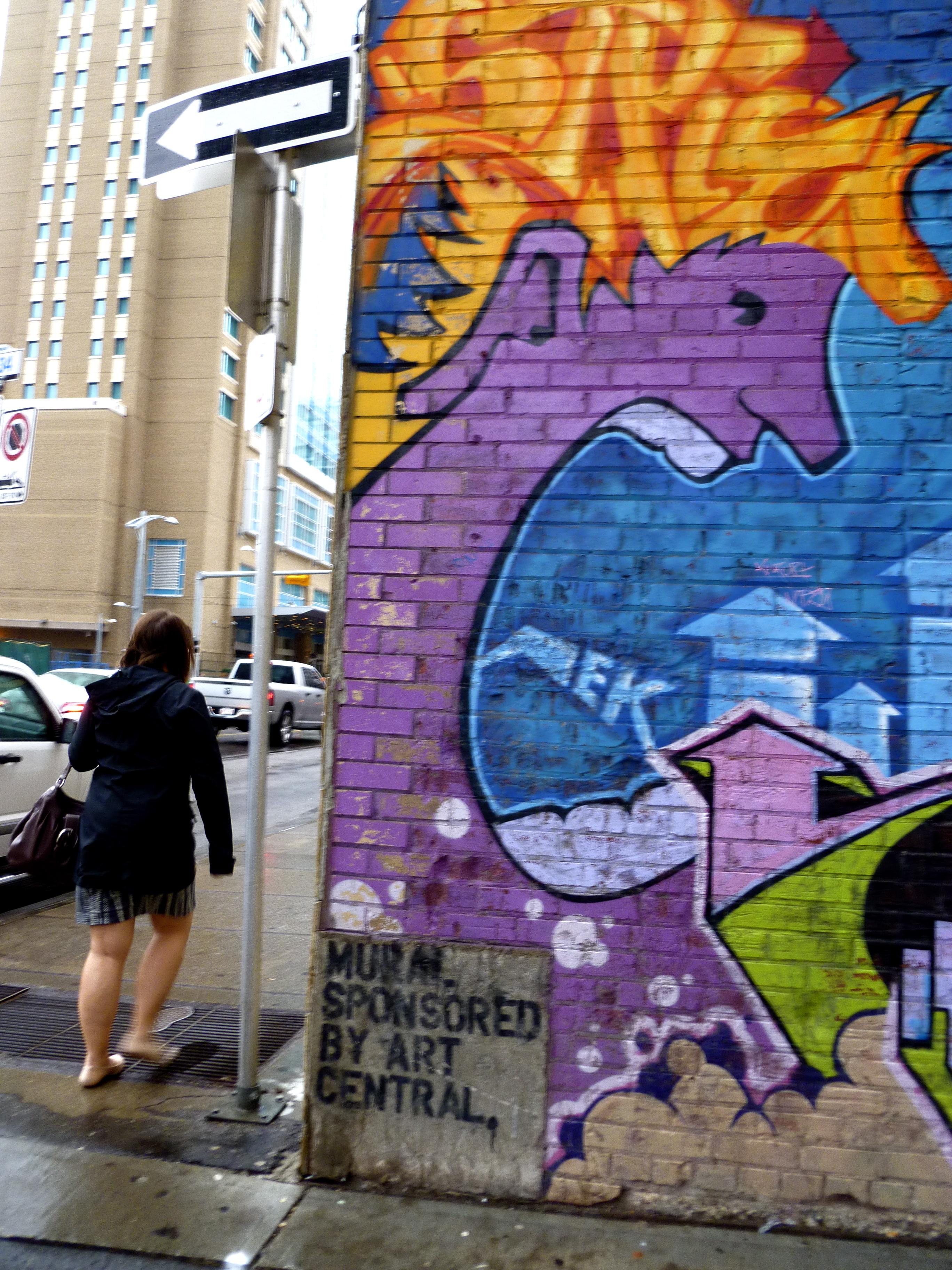 Graffiti wall calgary - For