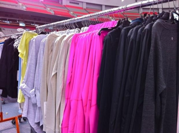 Lululemon BC Place Warehouse Sale 2013 - 12