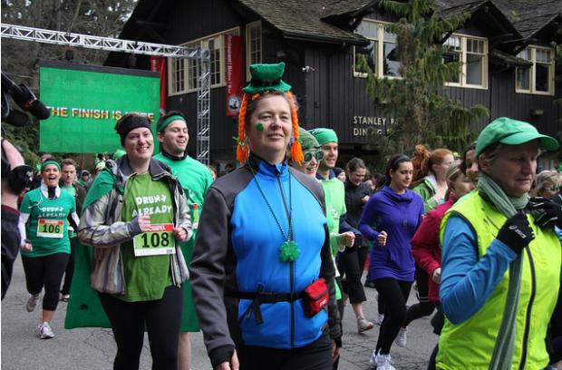 2012 St. Patrick's Day 5k - Vancouver