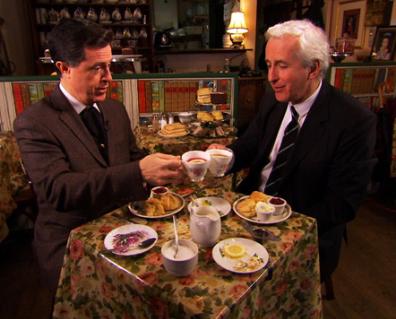 Stephen Colbert Tea Etiquette