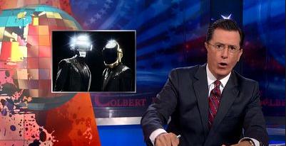 Stephen Colbert Daft Punk
