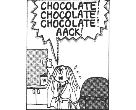 Cathy Comic Chocolate