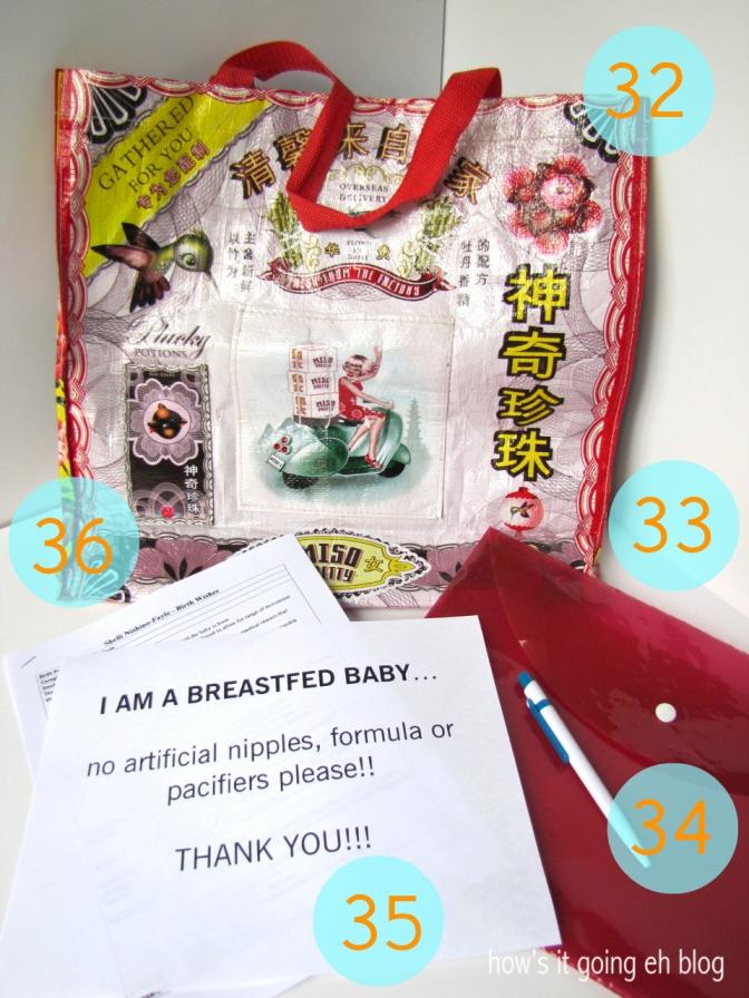 Pregnancy Hospital Bag - 10