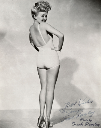 Betty Grable Pinup